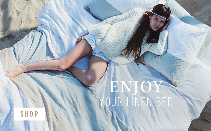 Enjoy your linen bed